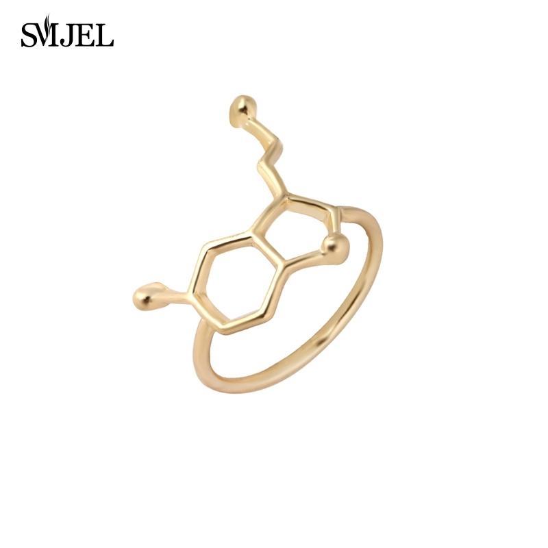 Smjel Molecule Shape Serotonin Molecule Ring Chemistry Style ...