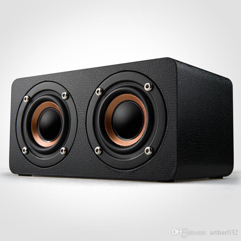 Деревянные громкие портативные колонки Bluetooth динамик для автомобиля тенденция мобильный телефон Bluetooth HiFi динамик Bluetooth Главная высокая мощность мультимедиа музыка