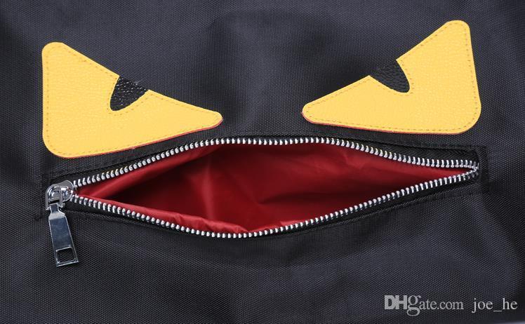 Petit monstre Plain Sac de sport / sac de voyage / extérieur Sac de sport en polyester / sacs à bagages Sac de voyage pliant sac de sport en toile