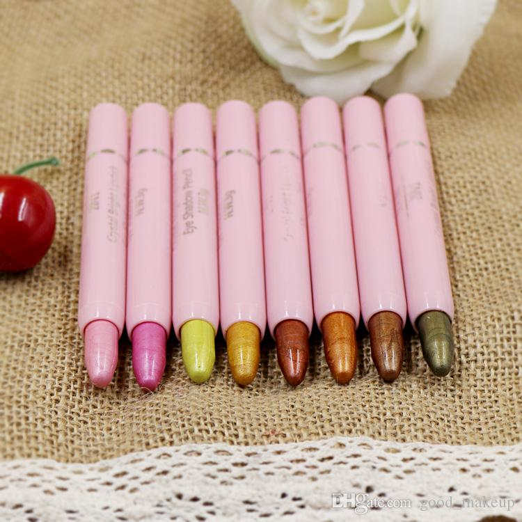 Glitter Lip Liner Eye Shadow Pencil Pen Cosmetic Makeup Set Liner Combination For Women