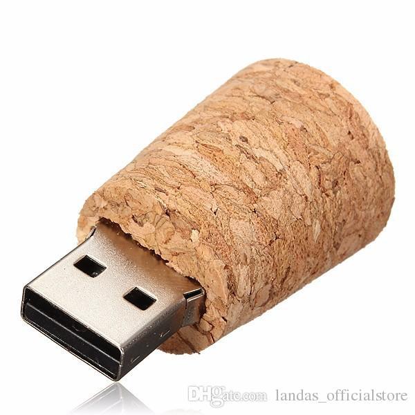New arrival messenger bottle usb 2.0 memory stick glass drift bottle usb flash drives wooden cork pendrive 4GB 8GB 16GB