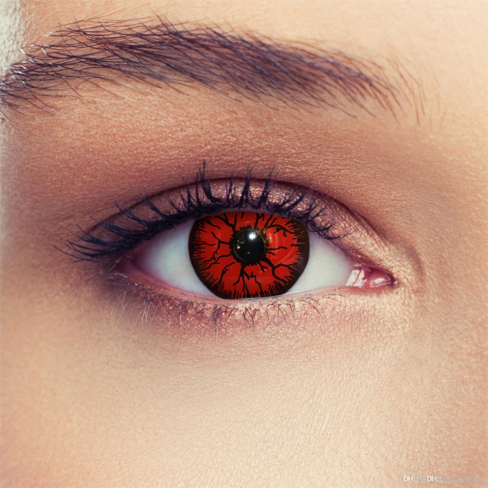 crazy-farbige-colored-red-devil-kontaktlinsen.jpg & Crazy Farbige Colored Red Devil Kontaktlinsen Contact Lenses ...