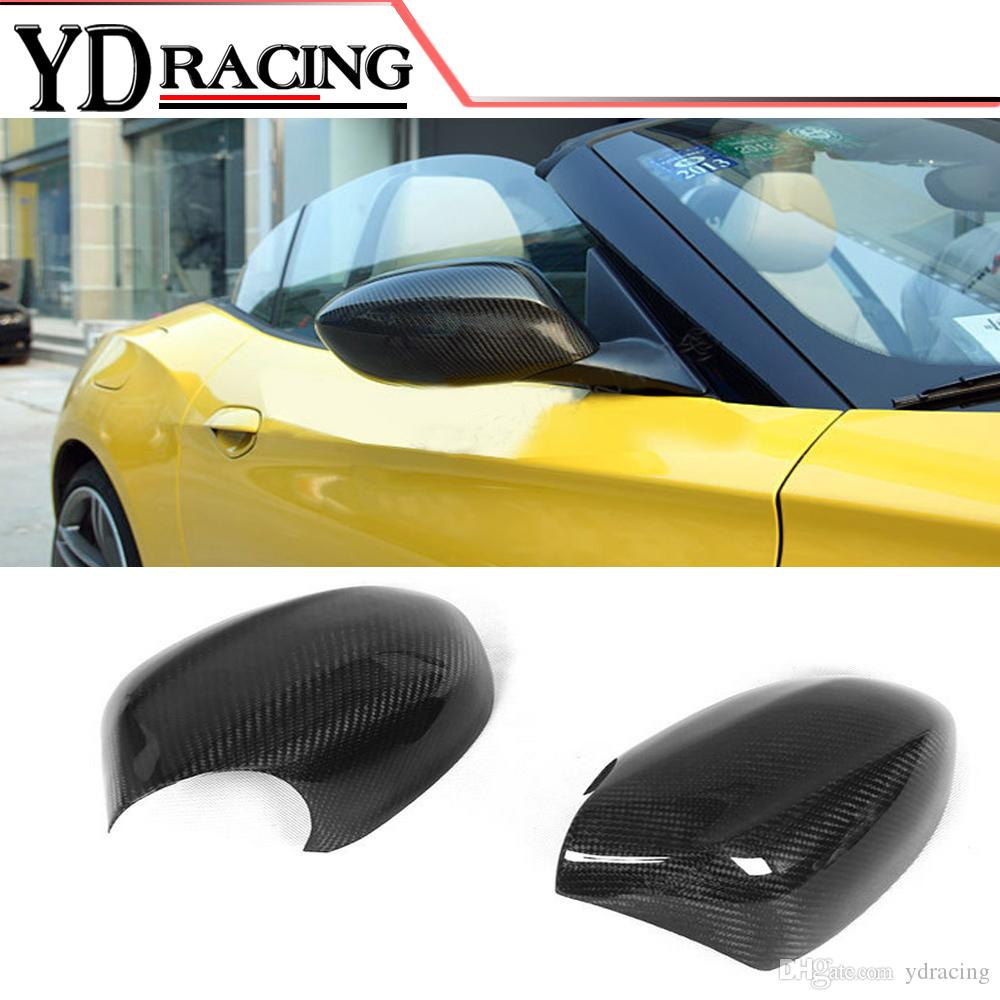 For Bmw Z4 E89 2009 2013 Carbon Fiber Car Side Rear Mirror Covers Car Styling