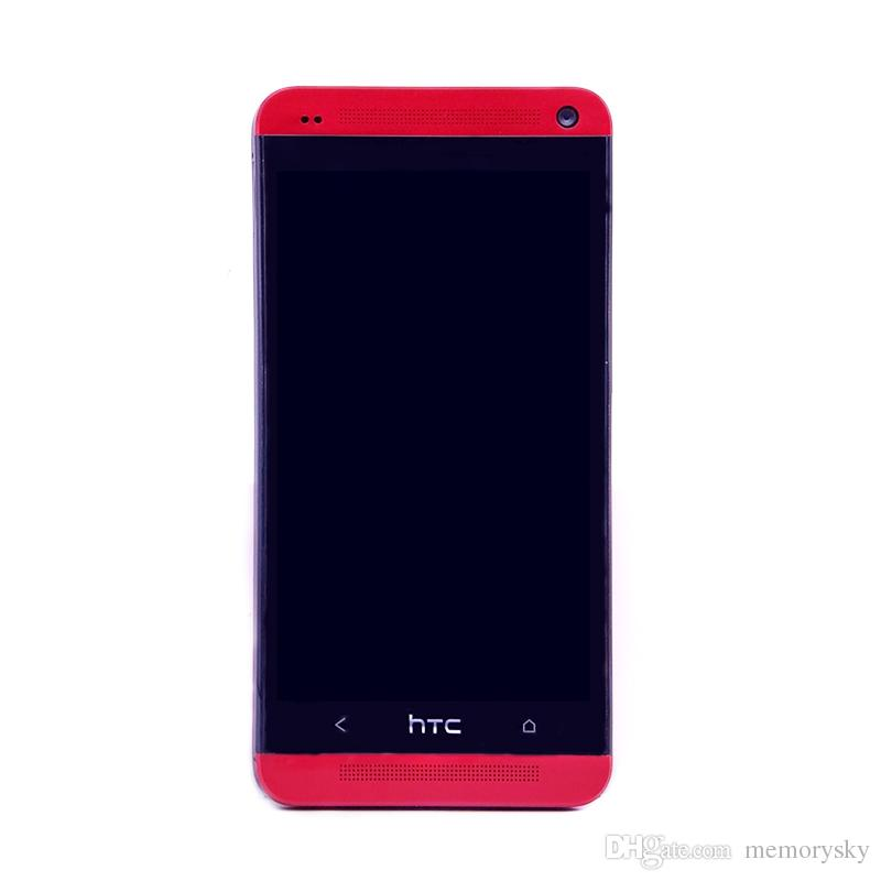 Original Refurbished HTC One M7 801e Refurbished Telefon Android Phone 4G LTE Telefon Quad-Core 4,7 Zoll 2 GB RAM 16 GB Rom