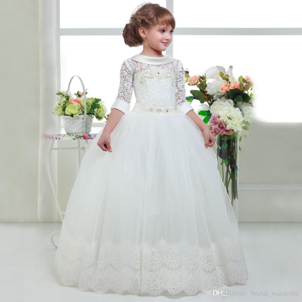 abaowedding elegant first communion dresses for girls kids white graduation dresses size 10 princess holy communion dresses night dresses purple