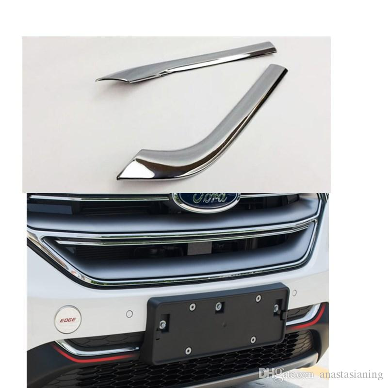 Car Abs Front Grill License Plate Frame Accessories For Ford Edge  From Anastasianing   Dhgate Com
