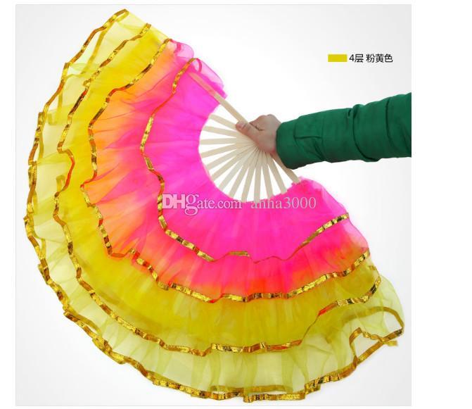 Новый китайский шелк танец вентилятор, веер, танец живота реквизит, фестиваль реквизит, кадриль, вентилятор