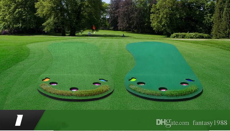 2018 Feet Style Golf Practice Golf Putting Green Simulation Home Office  Courtyard Lawn Divot Casual Sports Gift For Kids From Fantasy1988, $290.84  | Dhgate.