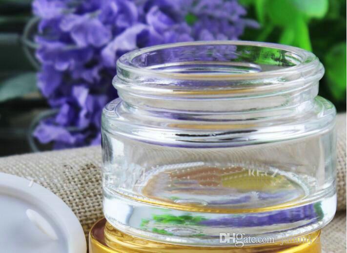 15g 20g 50g Crema Tarro Cosmético Envase Vacío Sombra de Ojos Maquillaje Crema Facial Bálsamo Labial Olla Belleza Recargable Botellas