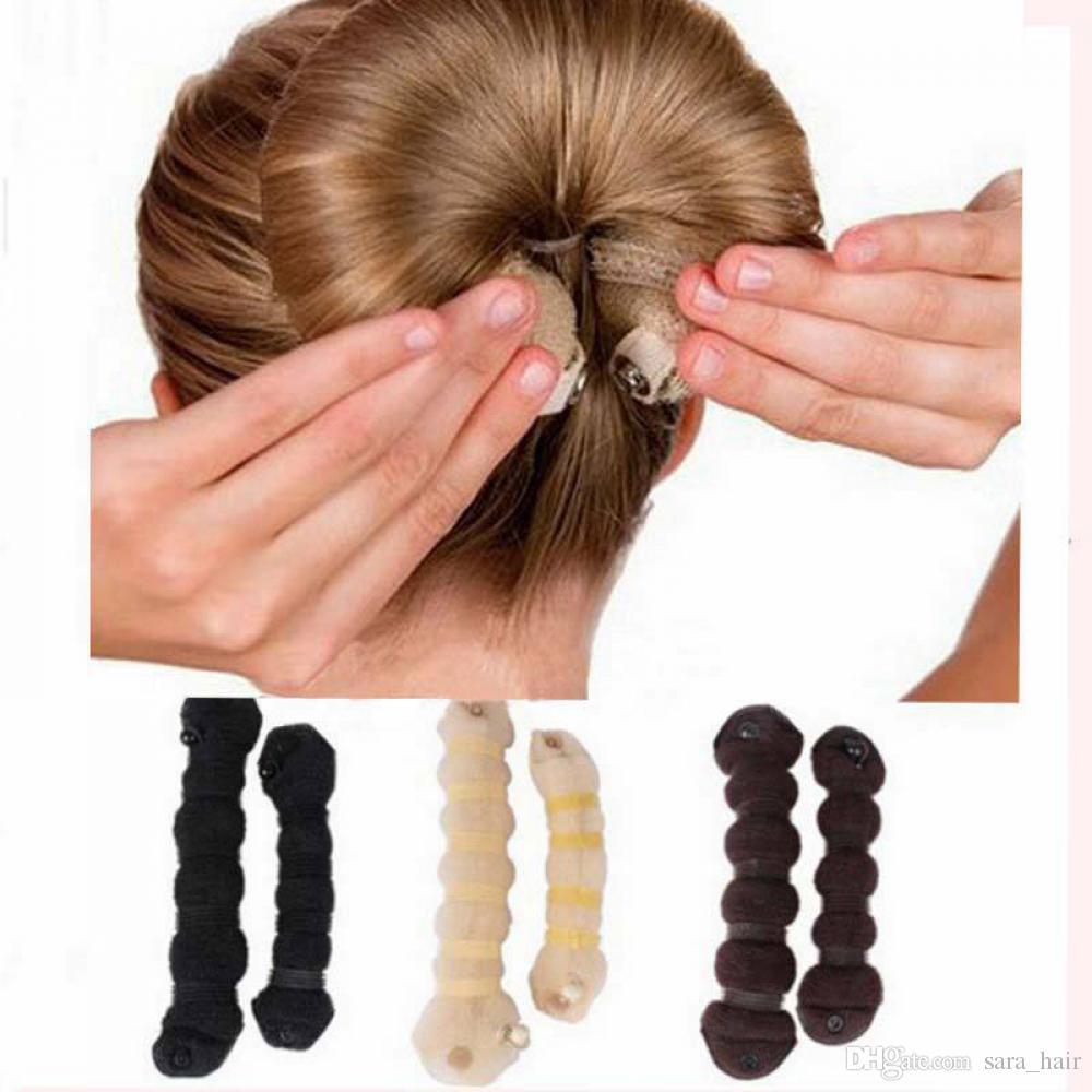 Sara Curler Bendy Magic Styling Hair Sticks Make Hair Bun