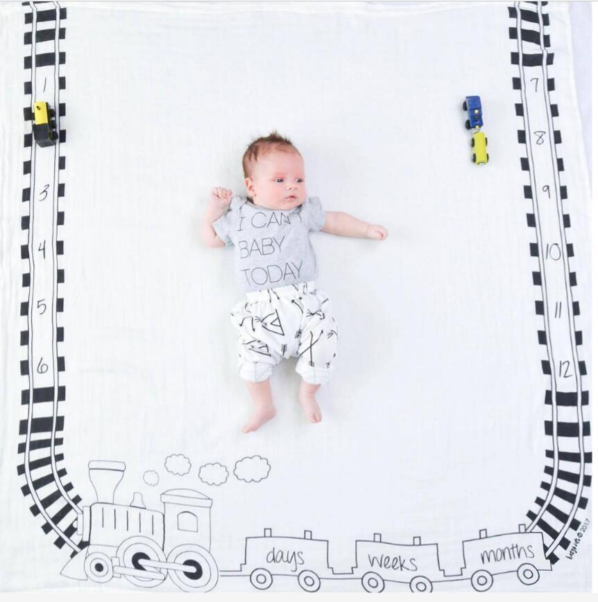 INS newborn photography props background baby photo prop fabric backdrops easter infant blankets wrap letter blanket cloth