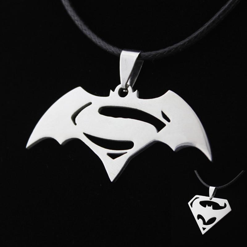 Wholesale Kittenup New Fashion Hero Batman Superman Symbol Stainless