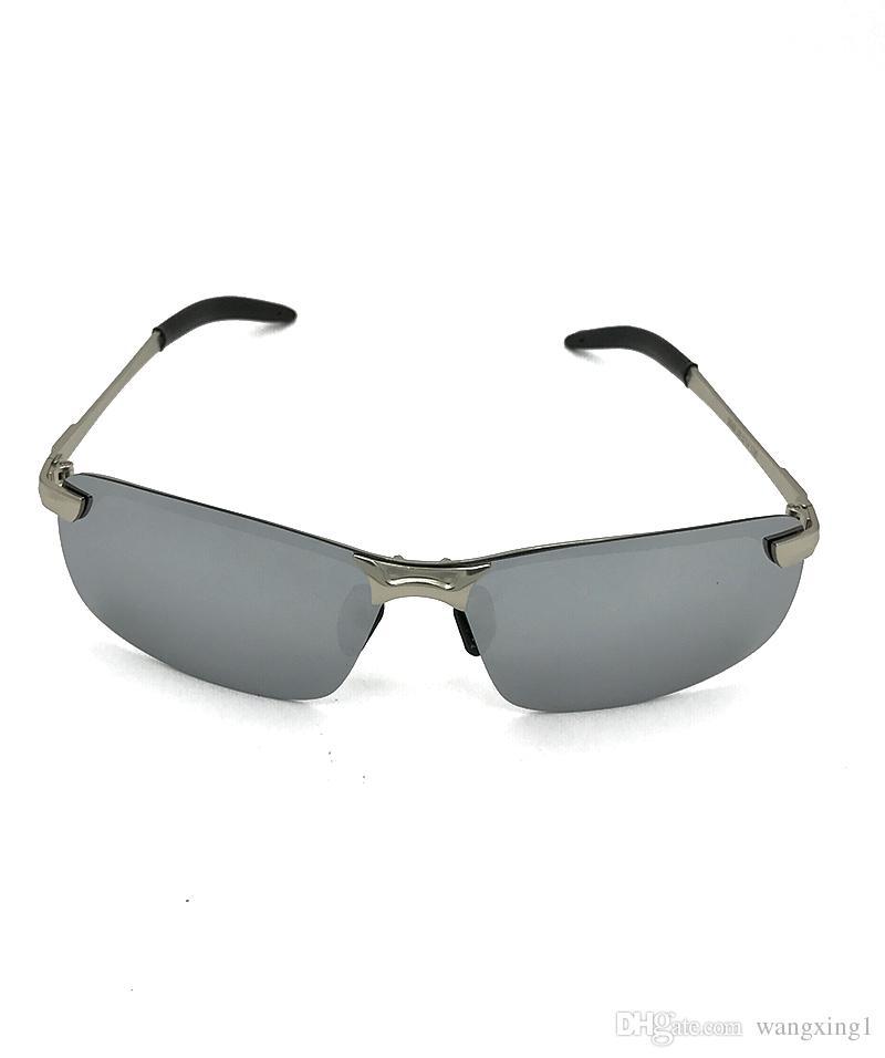Marka BoyRose 68 MM Gümüş Lensler Lüks Güneş gözlükleri Moda Kanıt Rays Güneş Gözlüğü Tasarımcı Erkekler Kadınlar Için Gözlük Gözlük ...