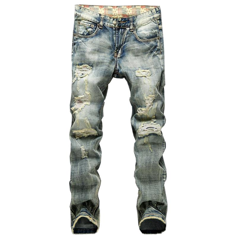 2019 Wholesale New Fashion 2016 Men Jeans Runway Slim Racer Biker Jeans  Fashion Hiphop Skinny Pleated And Hole Jeans For Men Mz213 From Yanmai, ... ad2f6584c7