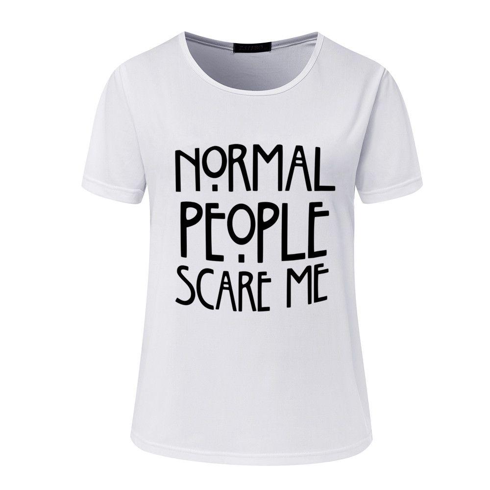 T-shirt das mulheres Harajuku Tops Do Punk bonito mas psicótico Carta Impressão Camiseta Femme Camisetas Casual tshirt O-pescoço rocha Tumblr NV12-R3