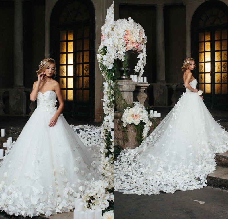 Romantic Speranza Couture Wedding Dresses 2017 Sweetheart Full ...