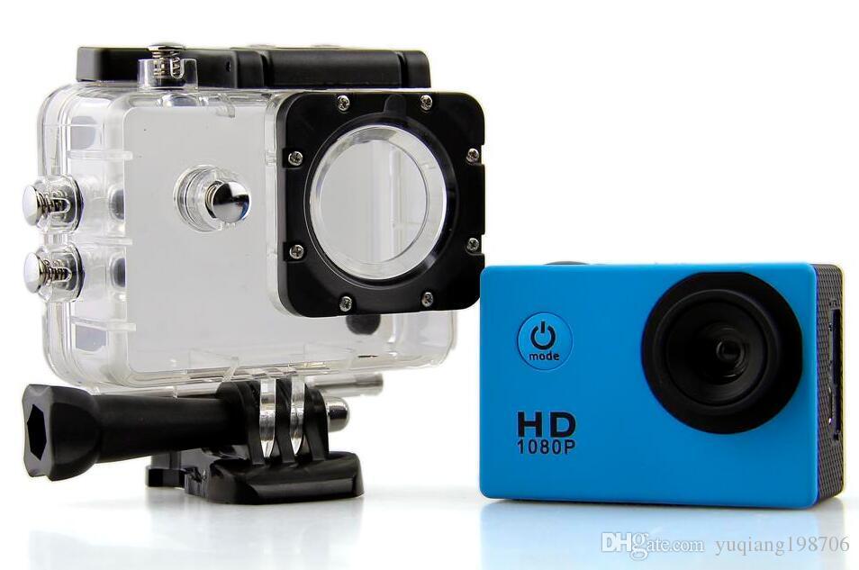 Waterproof 2.0 Inch LCD Screen SJ4000 style 1080P Full HD Camcorders Helmet Sport DV 30M Action Camera VS SJcam