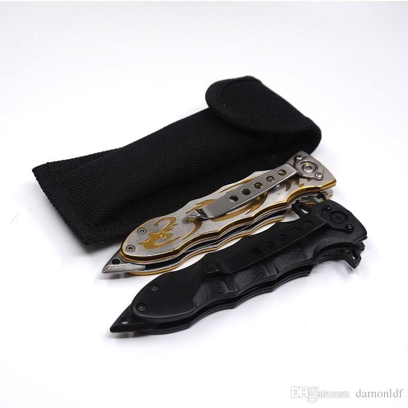 SOG Rome Knives Pocket Folding Knife 420 Steel 57HRC Portable Rescue Survival Tool Hunting Camping Combat Knives
