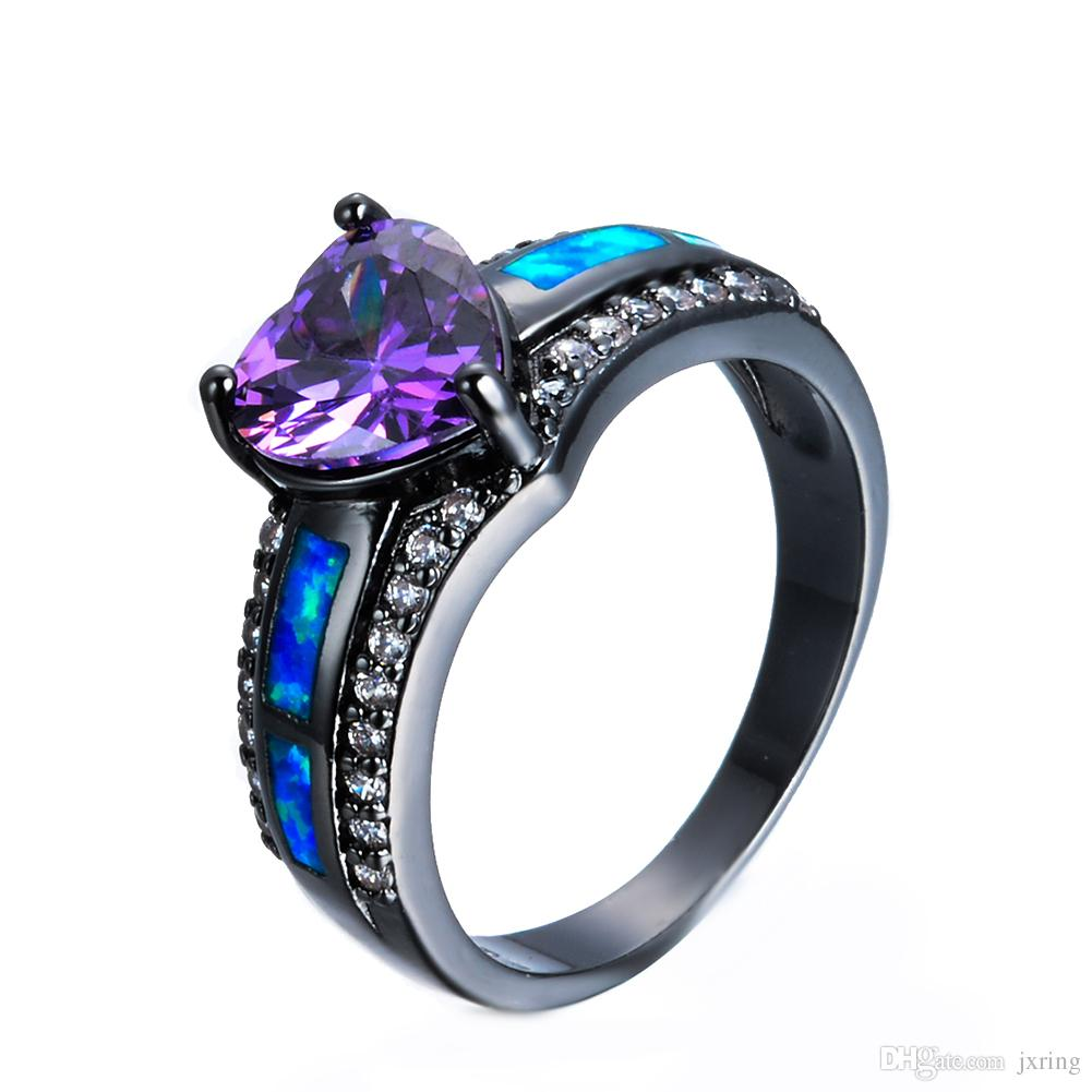 hd rings wedding free pin images amethyst purple wallpapers top heart jewelry