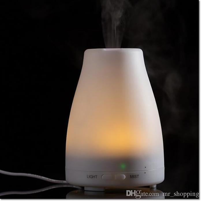 100ml LED Light Color Change Dry Protect Ultrasonic Essential Oil Aroma Diffuser Aromatherapy Air Humidifier For Home bathroom Use