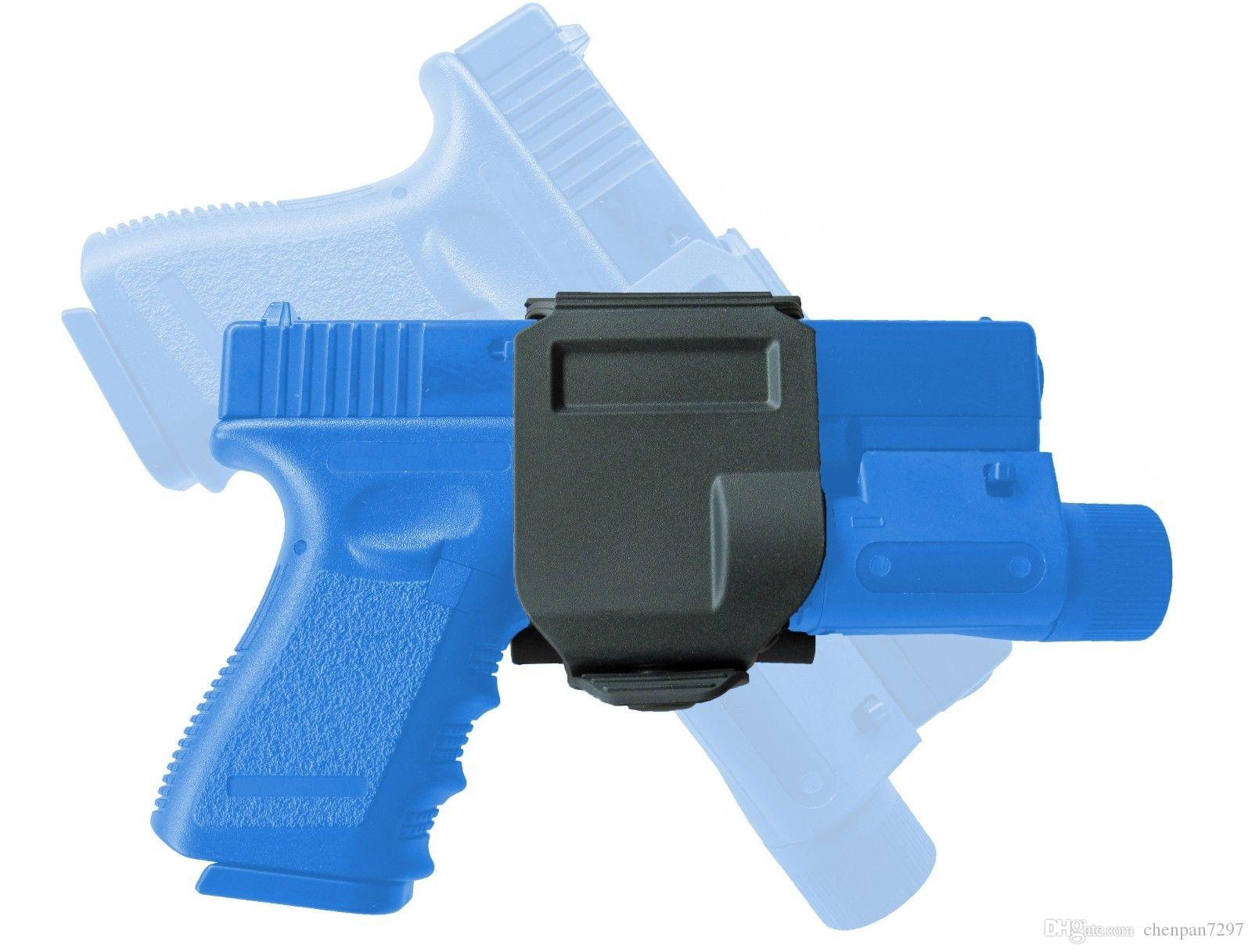 Compre Giro A La Derecha Tactical Hunting Glockclip Gun Clip Molle ...