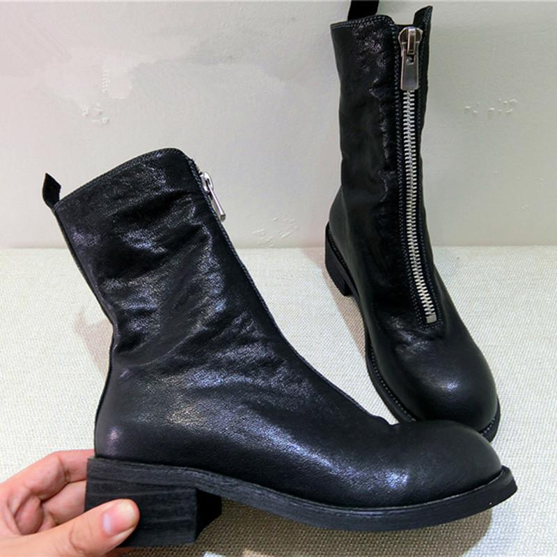 GUIDI Zip up boots dMilizH9