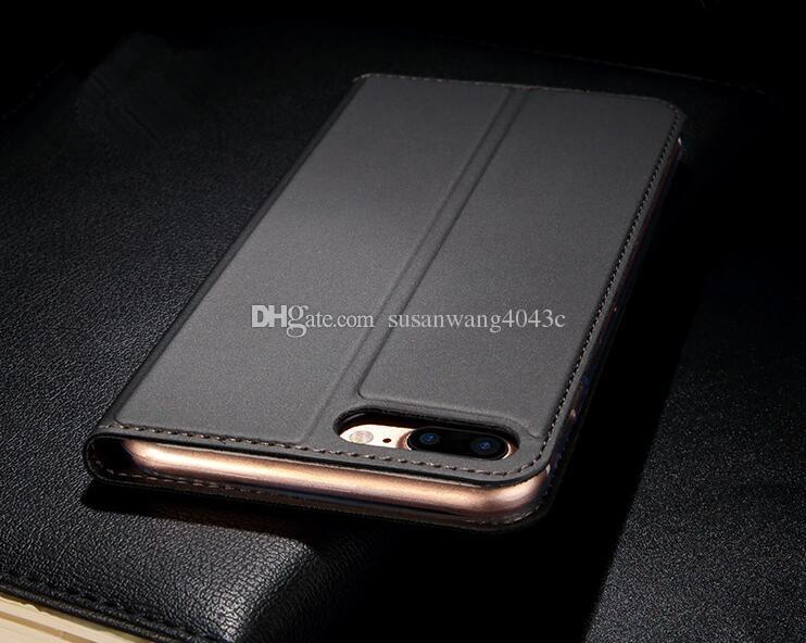 Luxury wallet phone case for iphone X XR XS Max 7 6 6s plus S8 S9 S10 5G note 9 10 Huawei Xiaomi smooth skin feeling flip Hull Shell GSZ305