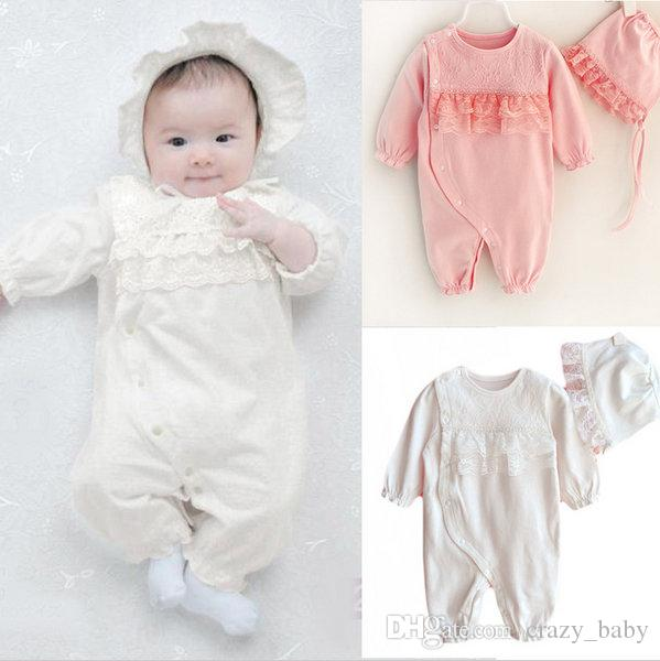 Newborn Baby Girl Clothes Set Boutique Formal Princess Style Lace