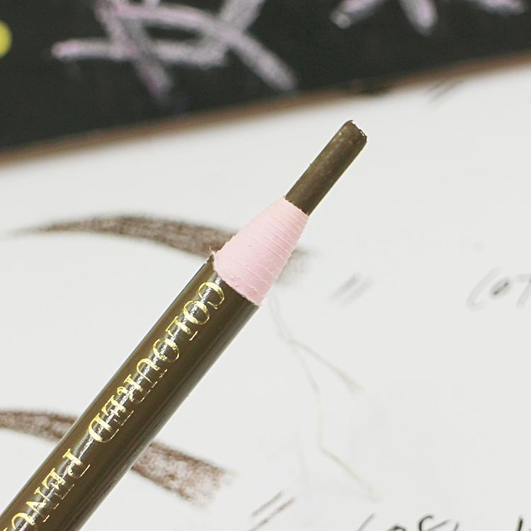 Impermeable Lápiz Ceja Enhancer Maquillaje Sombra de ojos Lápiz Lápiz Permanent Eye Liner Cejas Lápices Pintura Maquillaje Herramienta cosmética