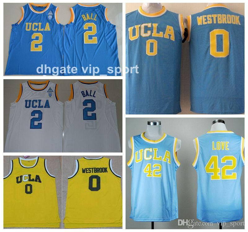 23971525f ... get 2017 ucla bruins college jerseys men basketball 0 russell westbrook jersey  42 kevin love 2
