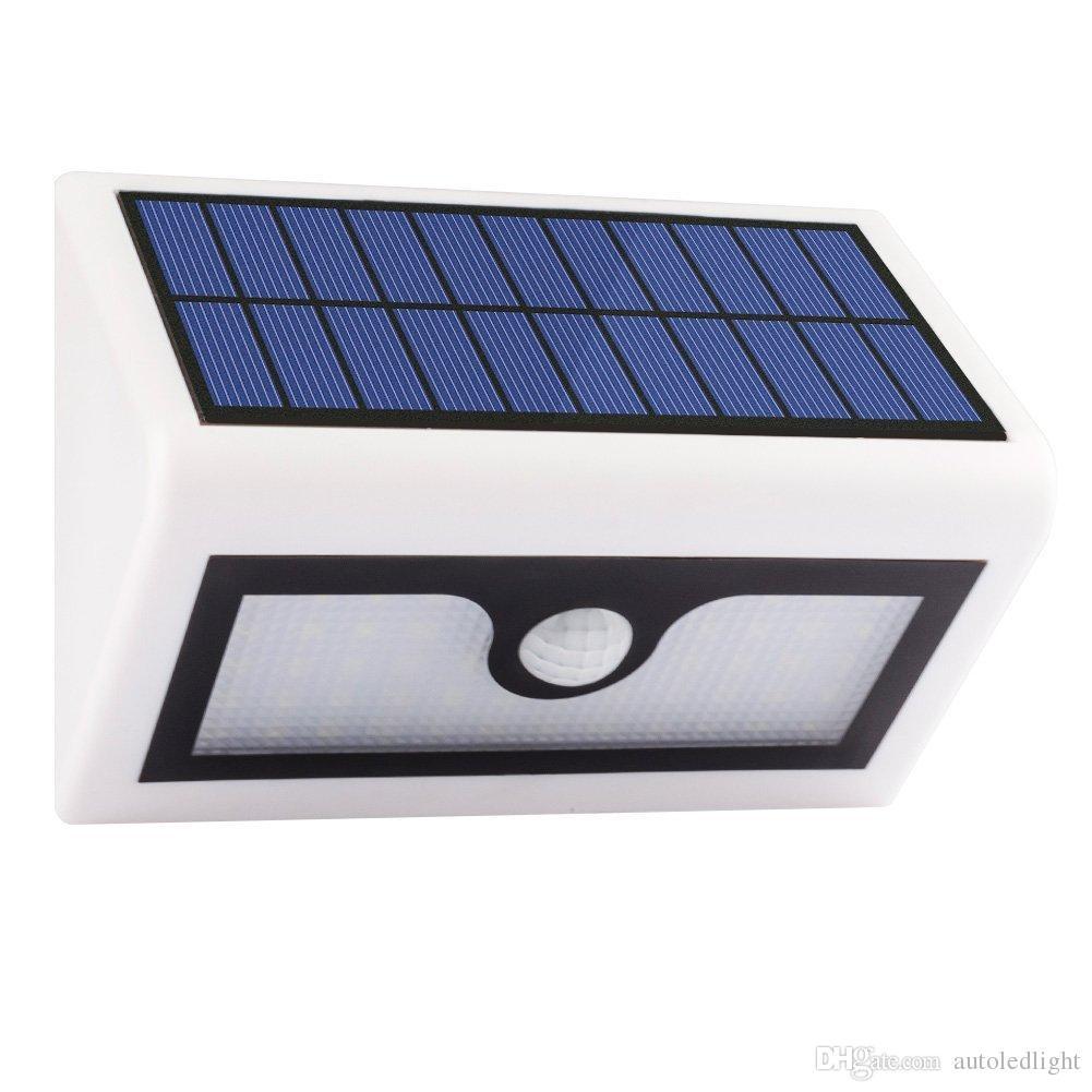 50 LED Solar Lights Waterproof Led Garden Outdoor Yard Street Lighting Light PIR Motion Sensor Solar Panel Wall Lamp Lantern