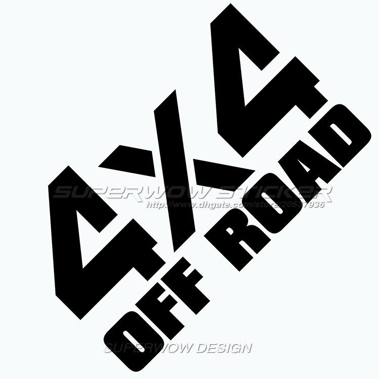 2018 car stickers four wheel drive logo personalized car stickers off road vehicles reflective car stickerswindow stickers from modifie 2 89 dhgate com