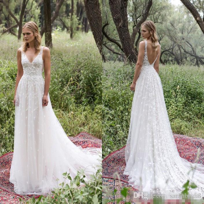 Discount Limor Rosen 2017 Garden Lace Wedding Dresses Israel Sexy