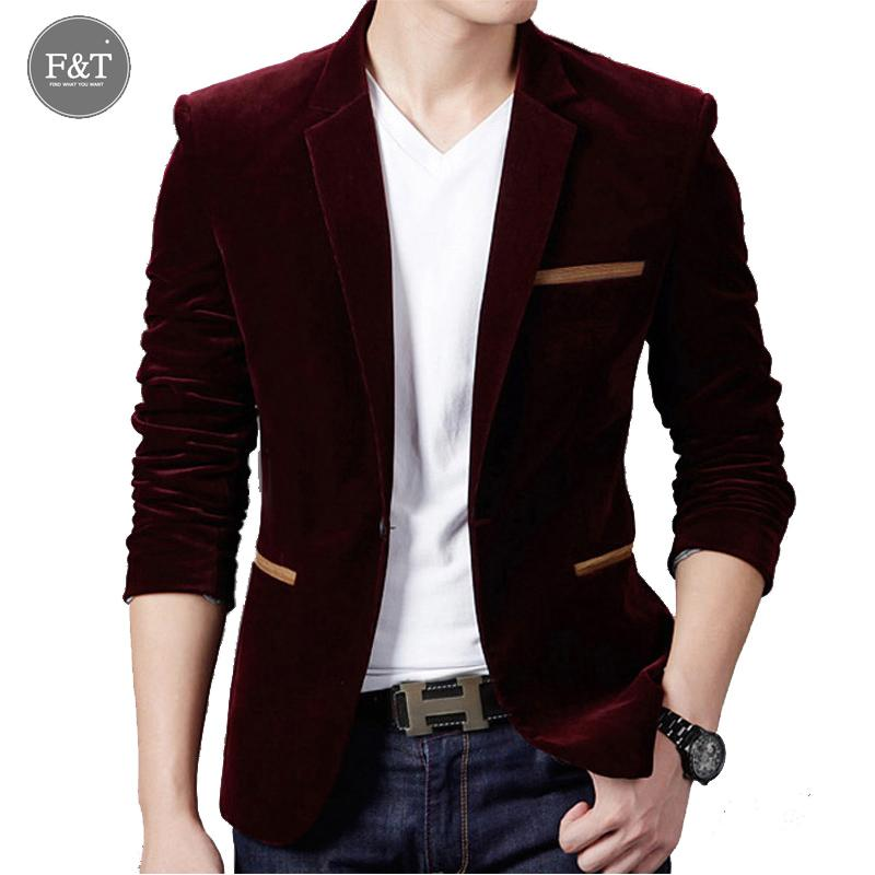 2019 Wholesale Asian SizeBrand Clothing Men Casual Blazers Spring Autumn  Mens Slim Fit Blazer Jacket Men'S Single ButtonWoolen Suit 2016 New From  Primali, ...