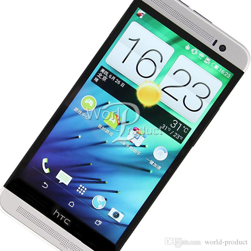 Original HTC One E8 Unlocked GSM 3G&4G Quad-core Smartphone 5 Inch 2GB 16GB WIFI GPS Refurbished cell phone