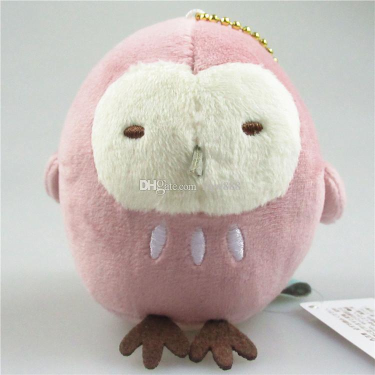 Nuevos / San-X felpa colgantes sumikko gurashi muñeco de peluche llavero juguetes de peluche de felpa de 8 cm NORB009 juguete
