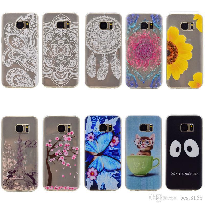 100% authentic 30902 effa4 Eiffel Tower Flower Soft TPU Case For Huawei P9/P8  Lite/Y6/Y625/Y635/Y5C/G8/Honor 4X/5X Butterfly Paisley Blossom Dreamcatcher  GEL Cat Skin