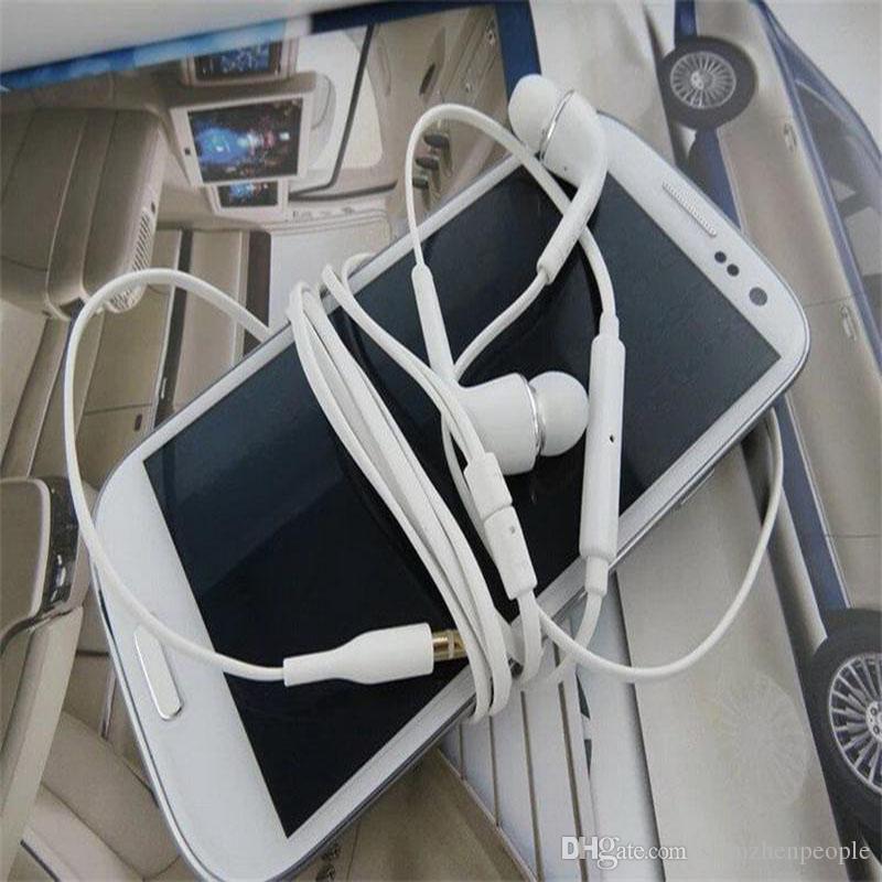 S4 S6 stéréo Casques d'écoute In Ear écouteurs avec micro et contrôle du volume du casque pour Samsvng Galaxy Universal pour téléphone Android téléphone mobile