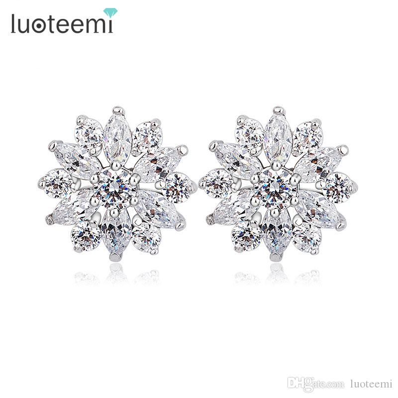 from new stud fashion zircon elegant popular hot channel jewelry in crystal earrings women design item for earring luxury brand