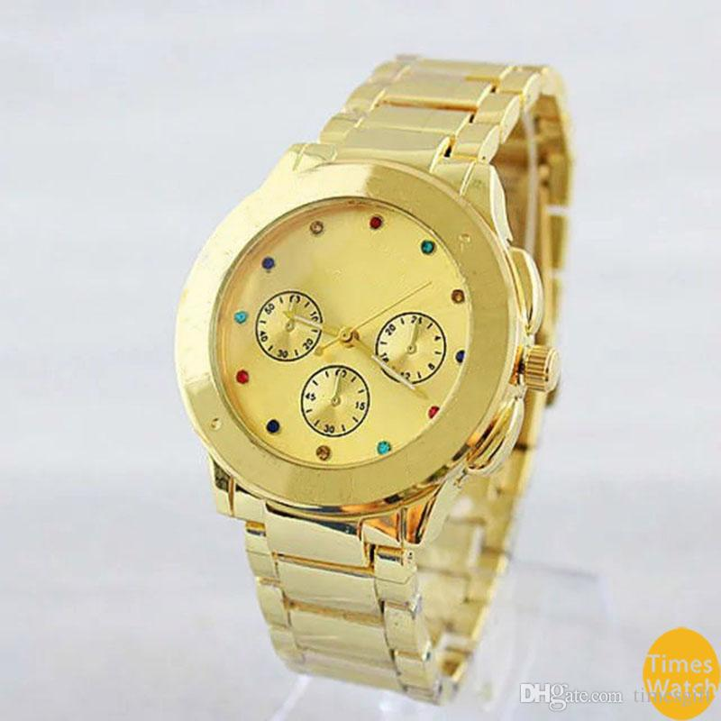 New Vogue 2019 Brand Watches Men Women Casual Designer Fashion Stainless Steel Gold Rose Gold Women Dress Wristwatches Drop shipping