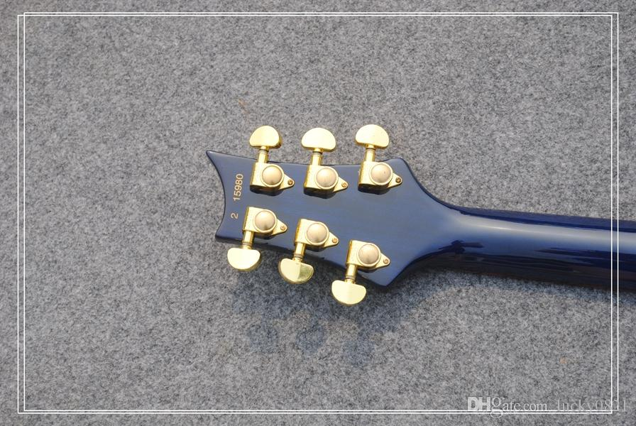 Alta calidad nueva llegada azul aniversario 25to guitarra eléctrica mejor OEM barato
