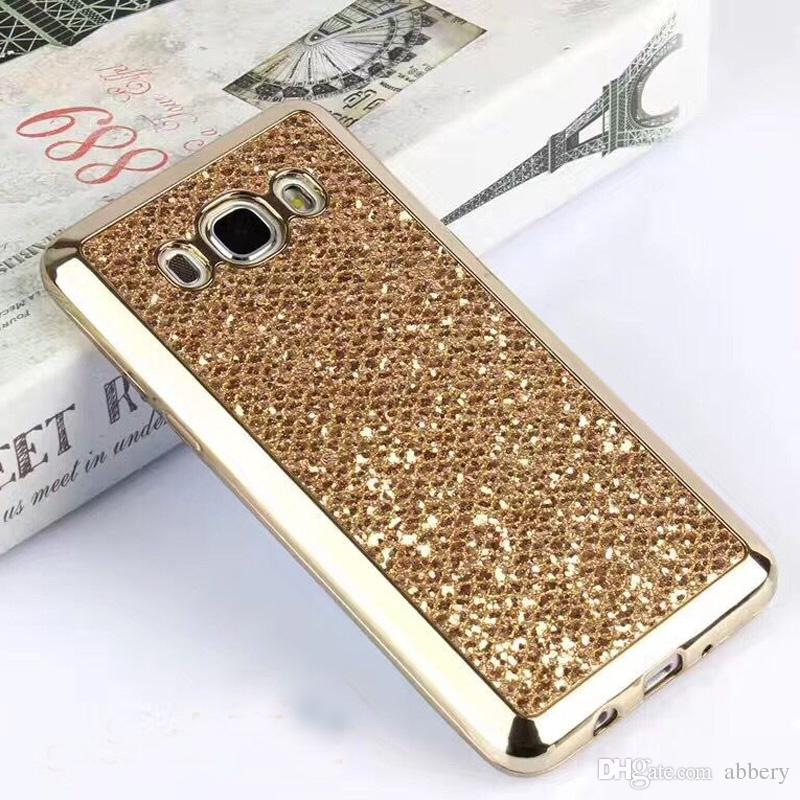 2017 New cell phone bling case cover glittering Soft PC case design for LG G3 G4 G5 Oppo R9 For Vivo X7 Moto G4 G4play HTC M8 M9