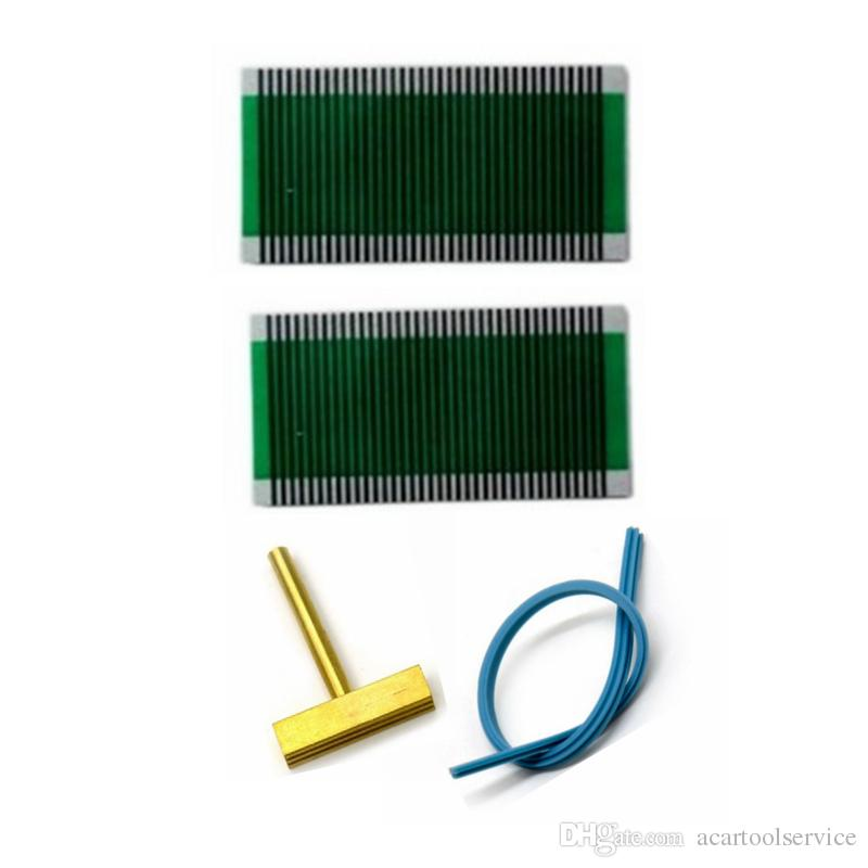 pixel repair cable For BMW E38 7 Series AC Air Condition Climate Control Unit Flat LCD Pixel Repair Ribbon Cable soldering t-tip strip
