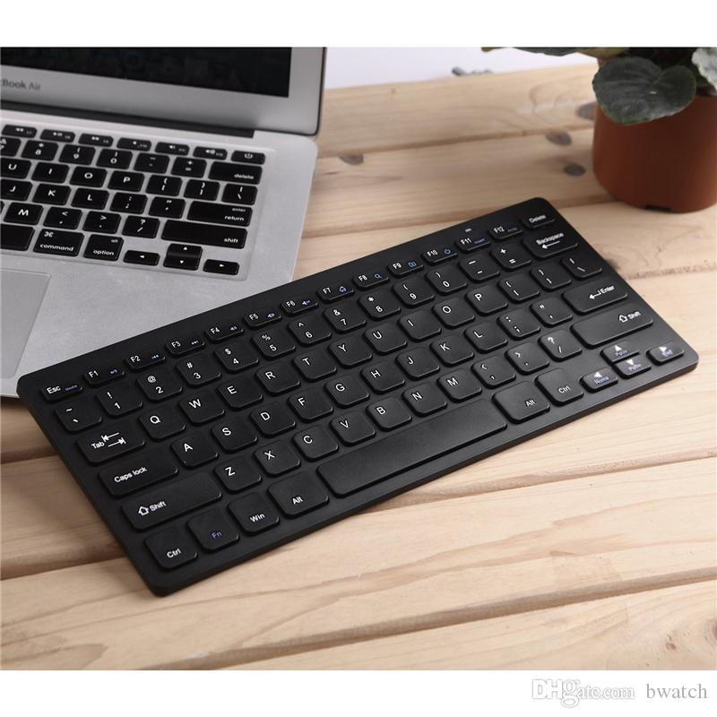 2.4G Ultra-Slim Wireless Combo Keyboard & Mouse Fashion Computer Accessories For Apple Mac PC Windows 7 8 Android TV Box With Retail Package