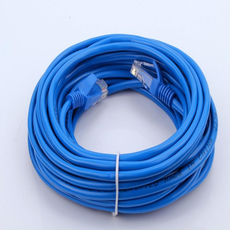 Rask Großhandel RJ45 Ethernet Kabel 10M 15M 20M 30M Für Cat5e Cat5 JK-26