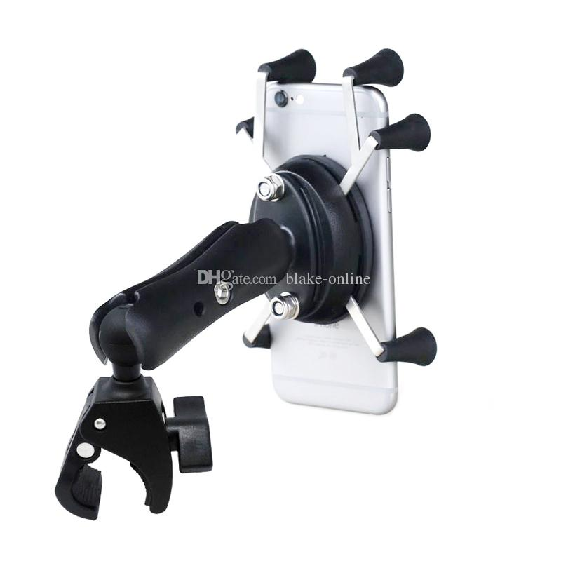 Motor Car Holder Phone Adjustable Bike Bicycle Motorcycle Handlebar Mount Holder for GPS Samsung iPhone Smartphones