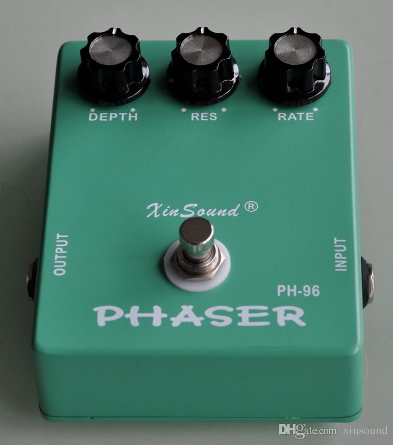 Vintage Analog Phaser and True Bypass PH-96 XinSound Pro Guitar Effects Pedal