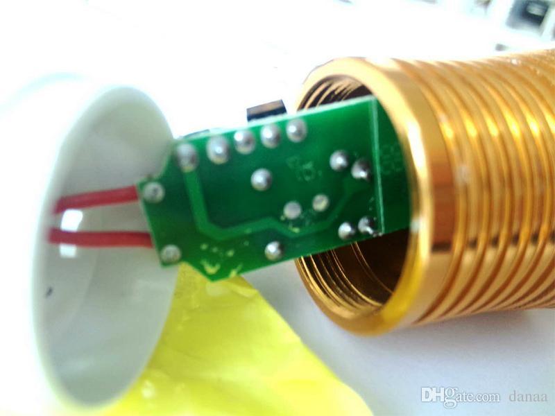 mum lamba, süslemeleri avizeler ve diğer ışıklar, sanan cips alüminyum levha altın rengi 9w sıcak beyaz