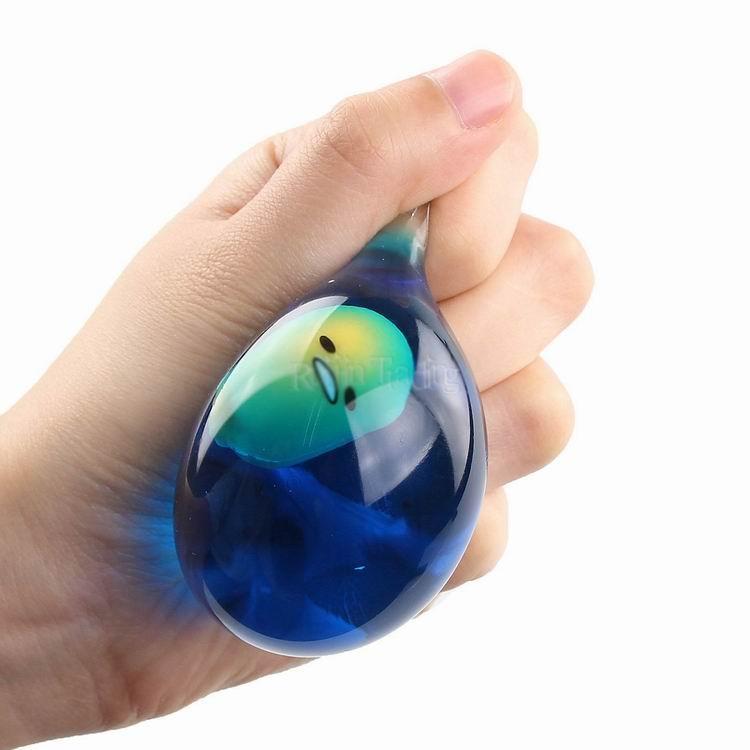 Детские игрушки для детских игрушек Мягкая гель-яичный стресс шариковых рук палец упражнения терапия стресс сжимание рельефные мяч декомпрессионный игрушка