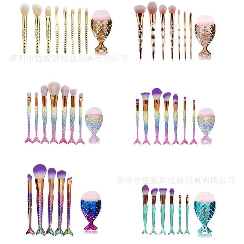 unicorn brush sets. mermaid brushes unicorn brush set makeup screw for women palettes primer from gogogo_love, $6.84| dhgate.com sets
